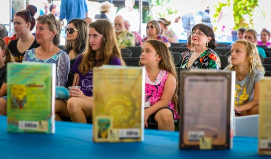 Southwest Florida Reading Festival entertained book lovers, young and old,  from around the area. Over 5,000 books were handed out to the children and teens, as well as authors talking about their books and signing autographs. This is the 20th year for the reading festival.