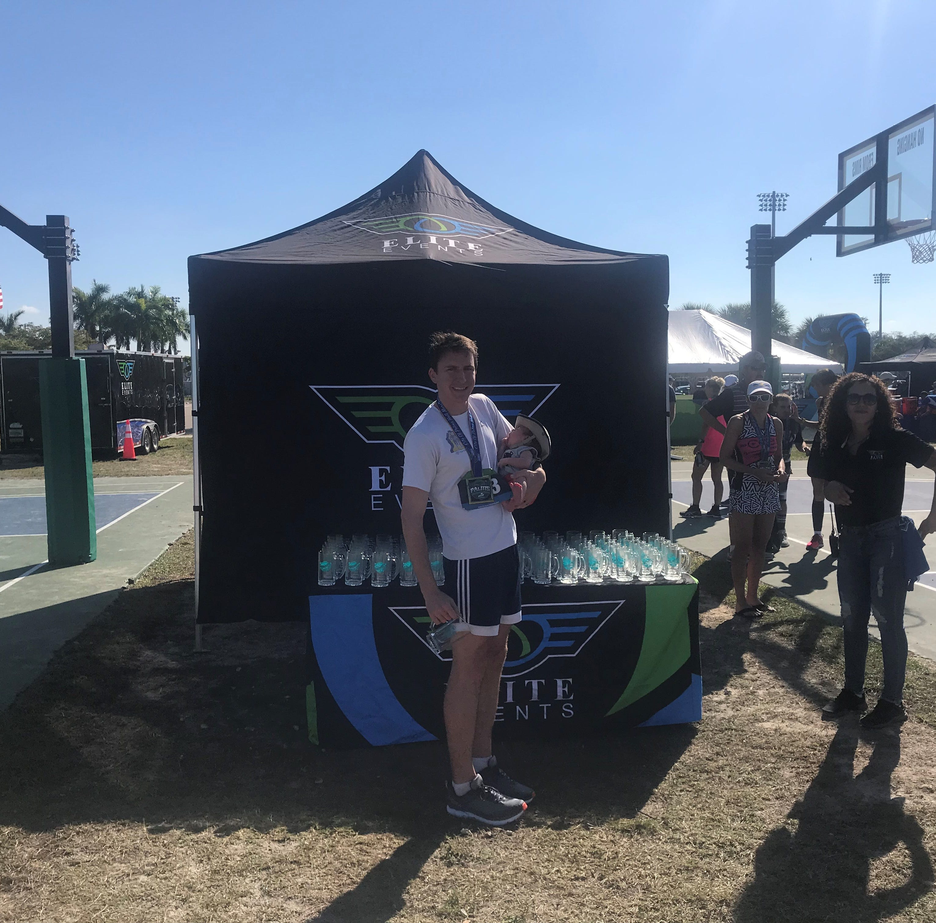 Runners get a kick out of inaugural City of Palms Half Marathon