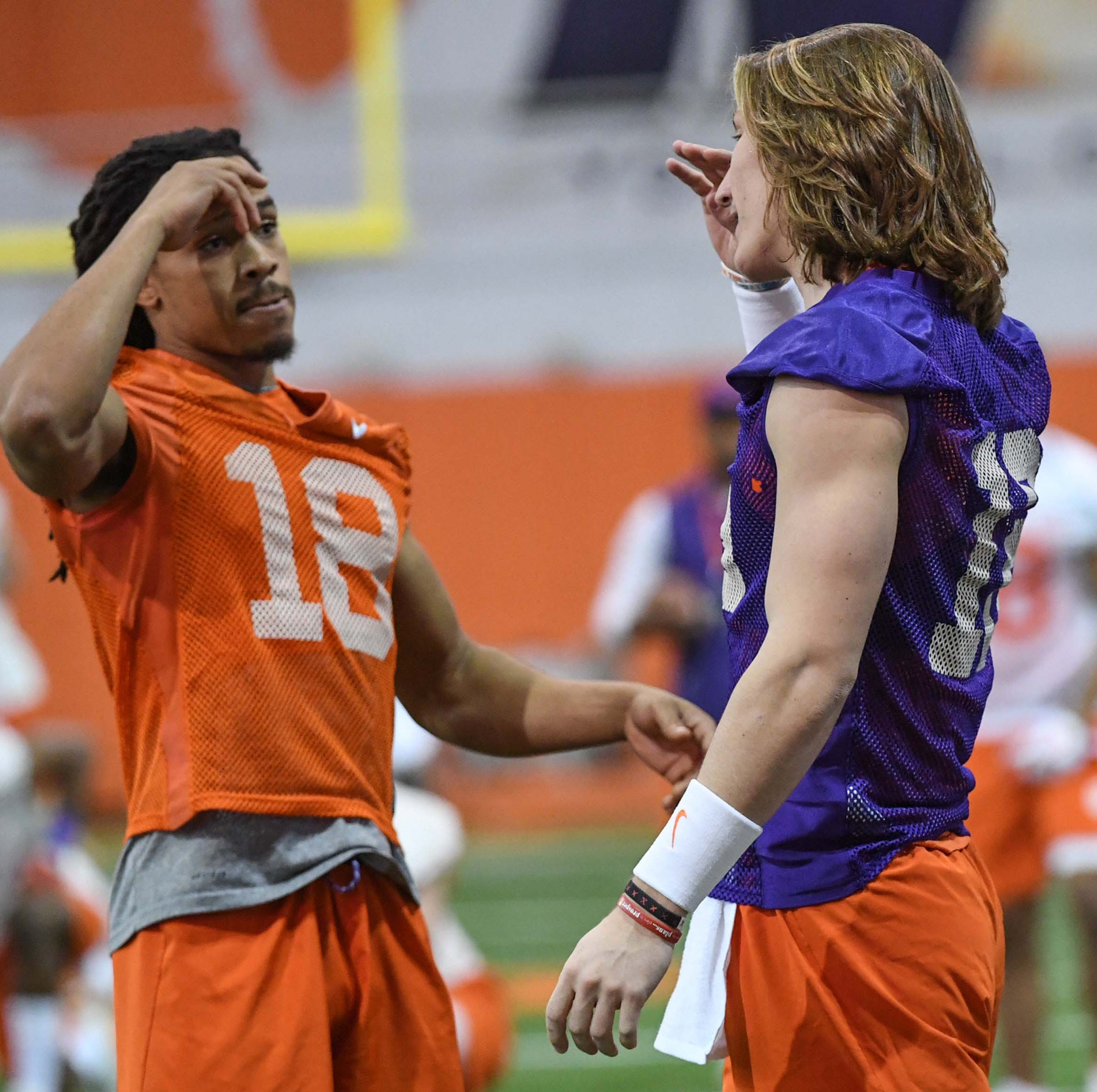 Clemson football QB Trevor Lawrence on pro talk: 'I kind of ignore it and keep working'