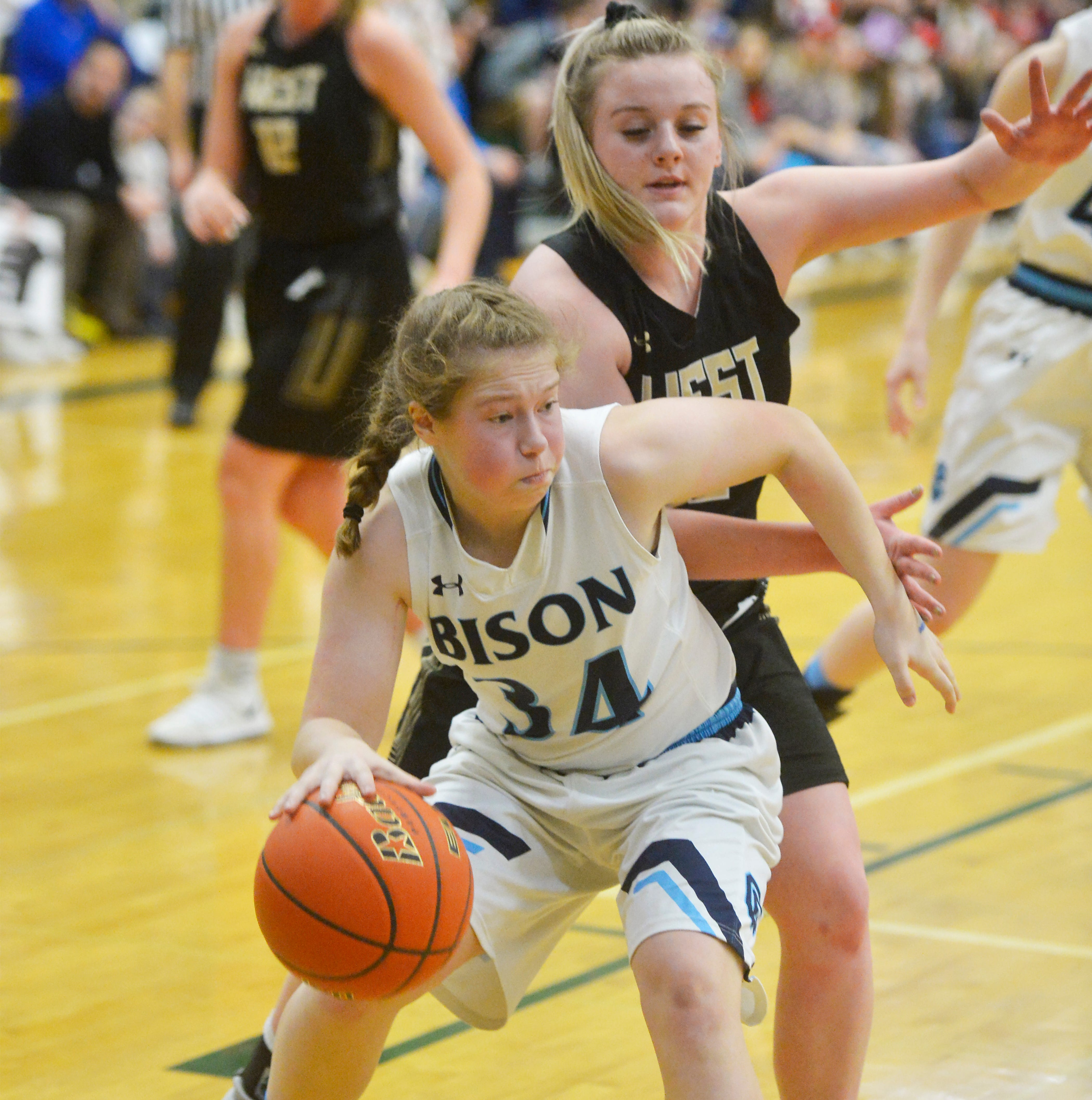 Schmitz: Bison girls 'well-prepared, ready to go' at State AA Tourney