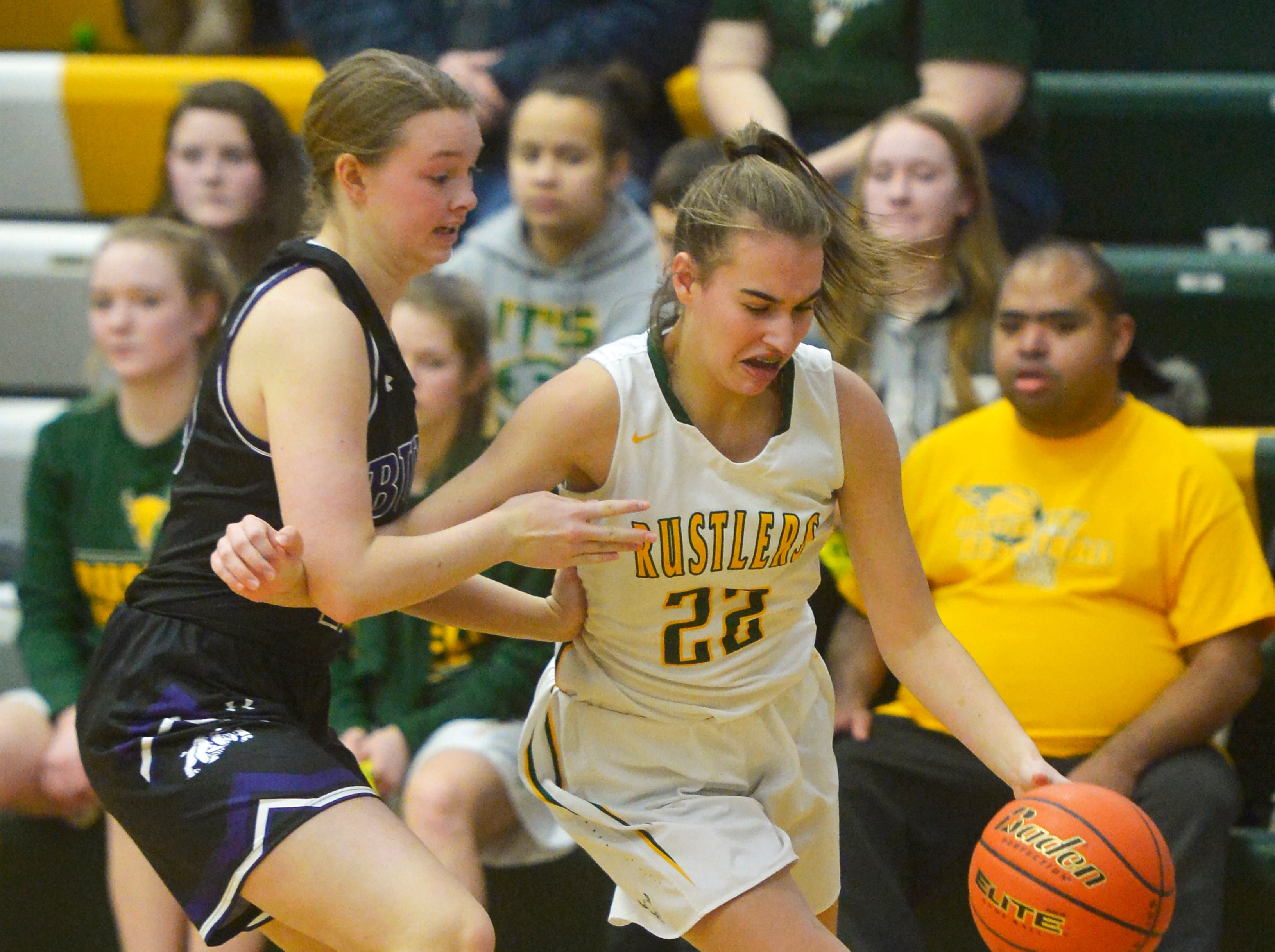 CMR and Butte play in the semifinal game of the Eastern AA Basketball Tournament at the CMR Fieldhouse, Friday.