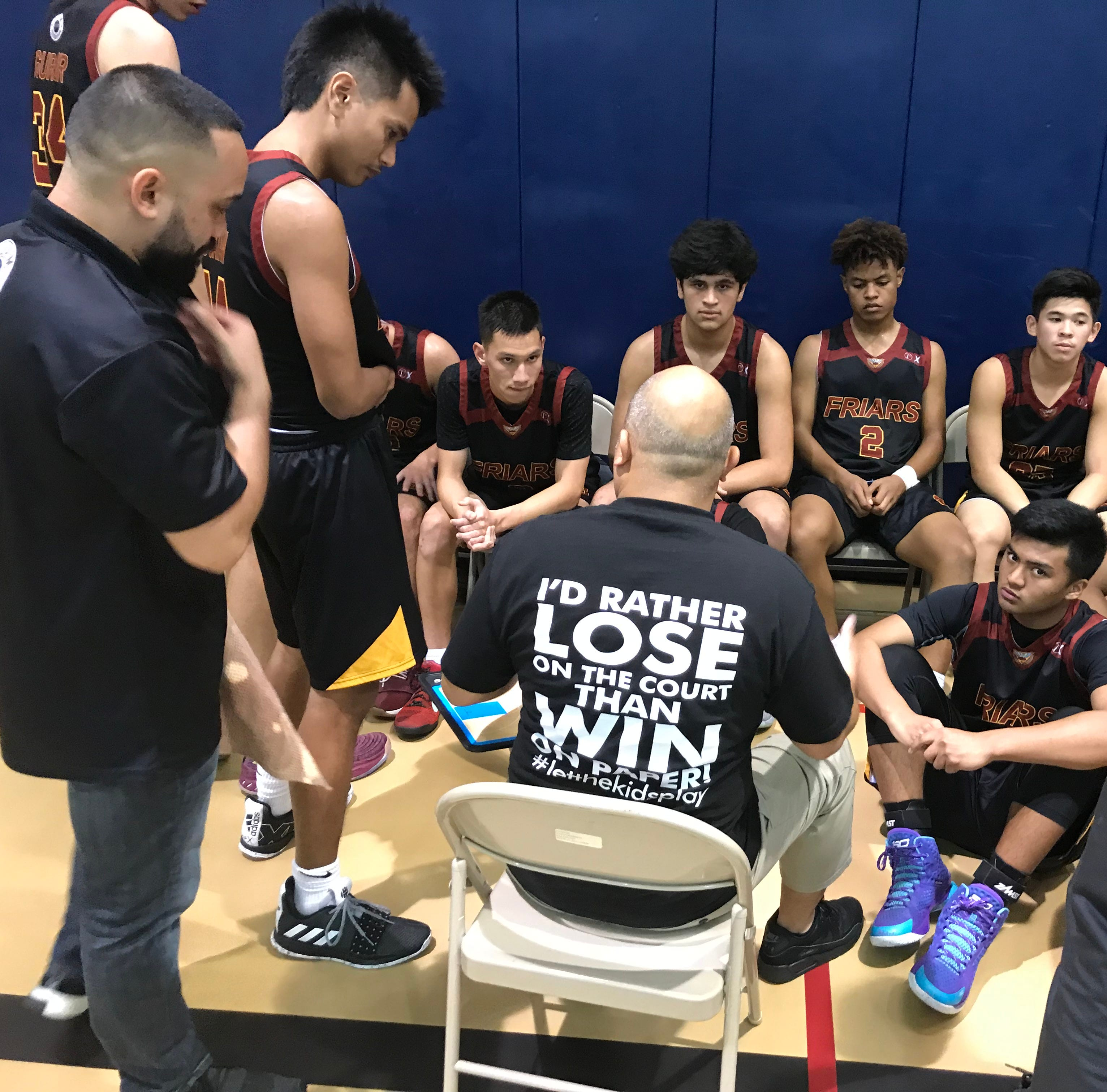 Friars rout Panthers, finish atop Gadao Division