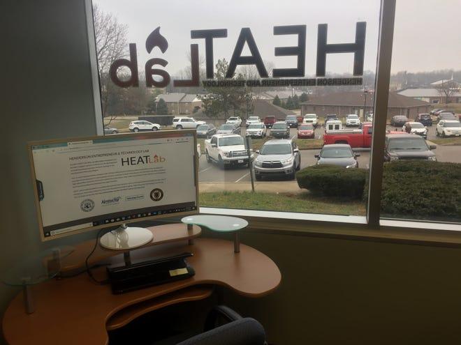 A design workspace at the HEATLab