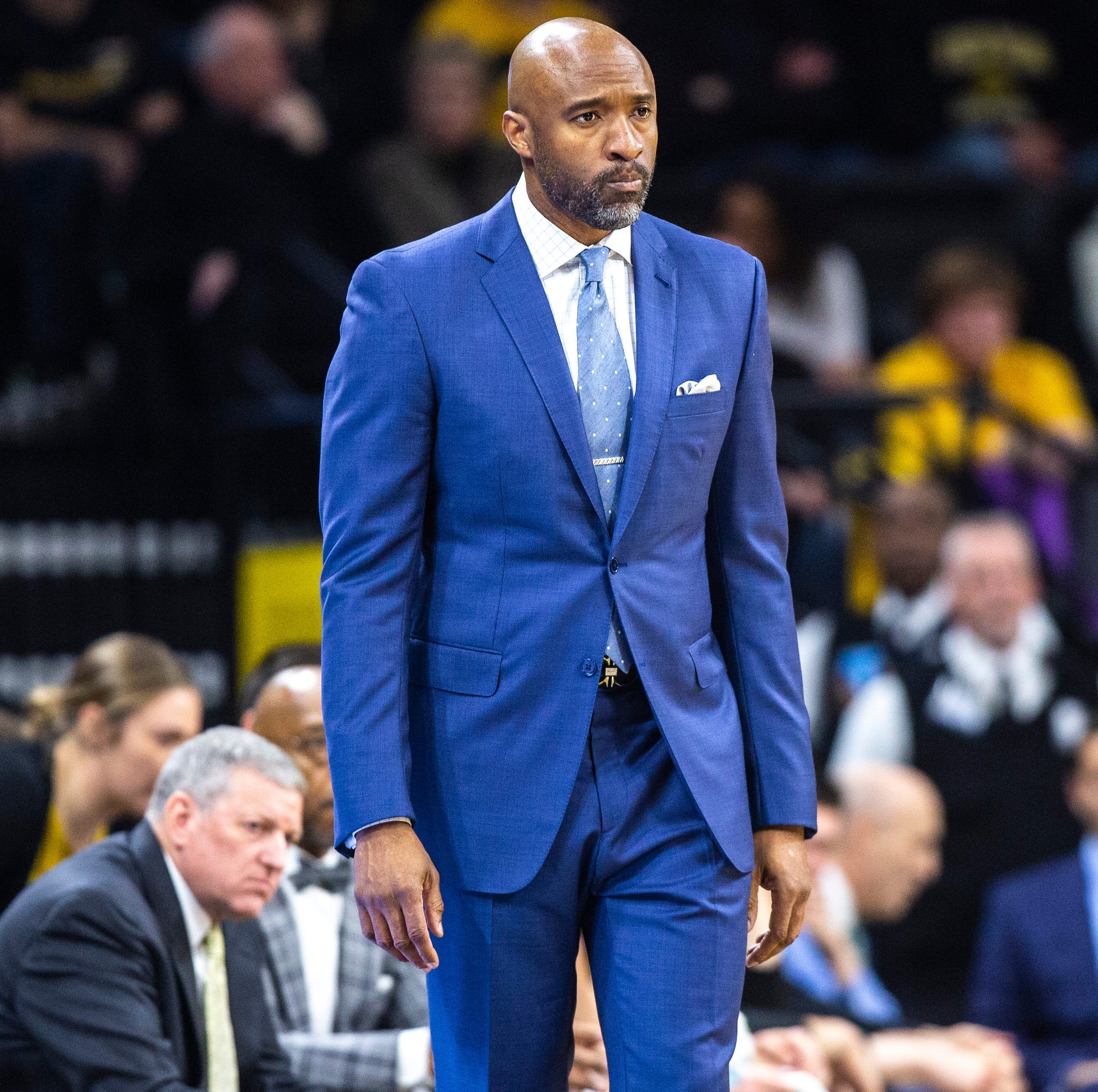 Assistant coach Andrew Francis leaving the Iowa men's basketball program