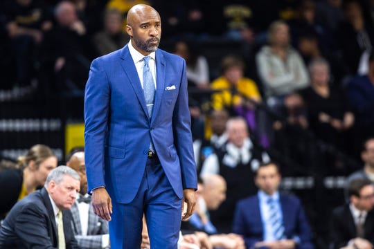 Andrew Francis served as Iowa's fill-in head coach in a home loss to Rutgers this season when Fran McCaffery was suspended. He served for nine years as a Hawkeye assistant.