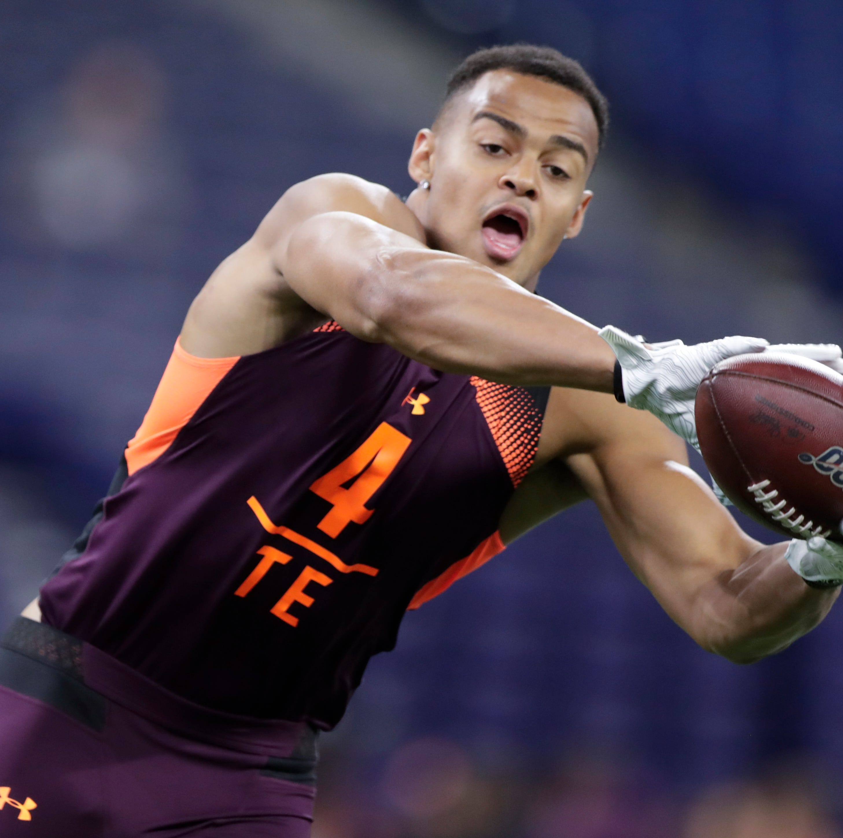NFL mock draft 2019: Where will former Iowa TEs T.J. Hockenson, Noah Fant land in first round?