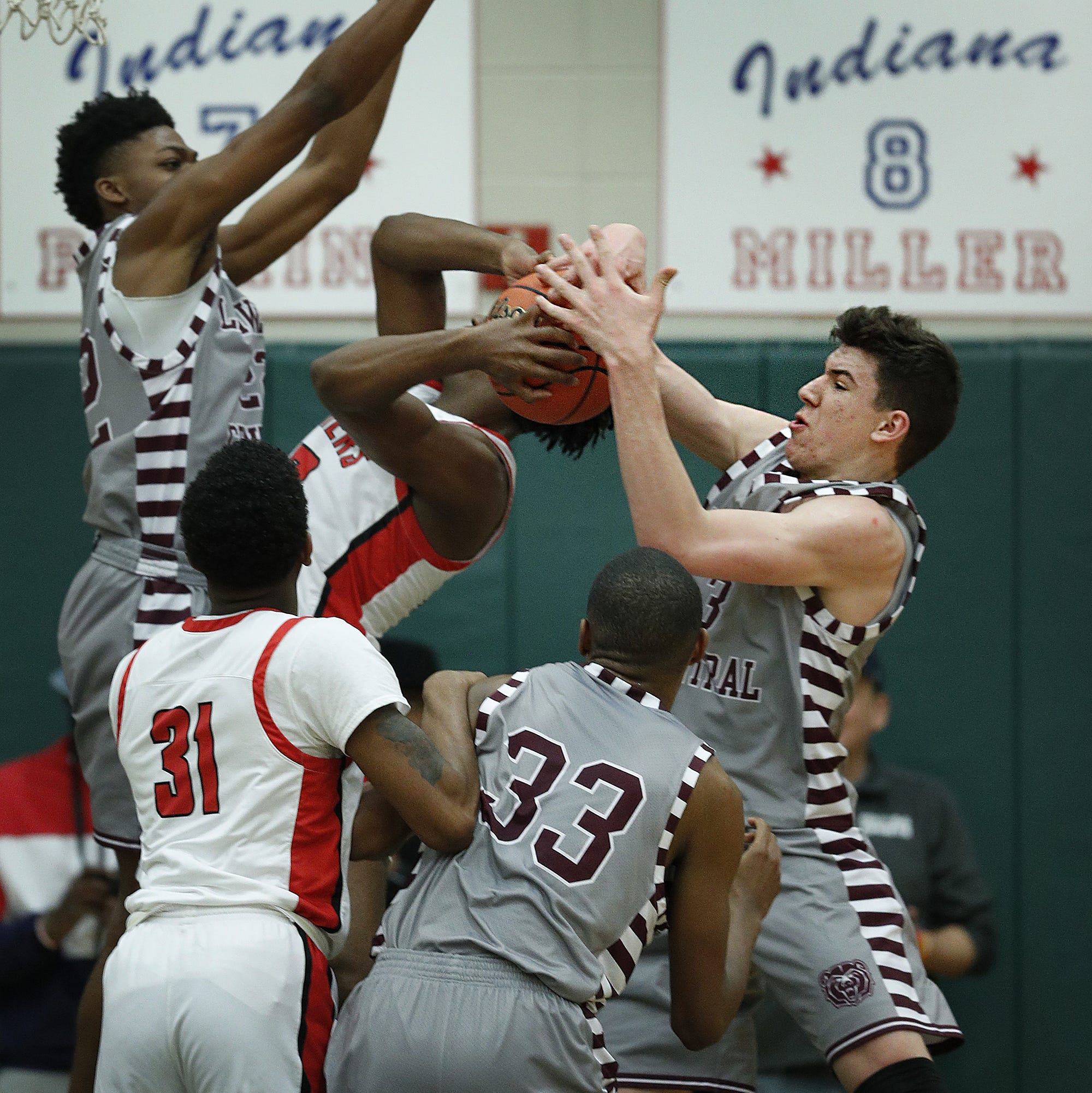 Indy-area boys basketball sectional semifinals roundup: See who will play for hardware