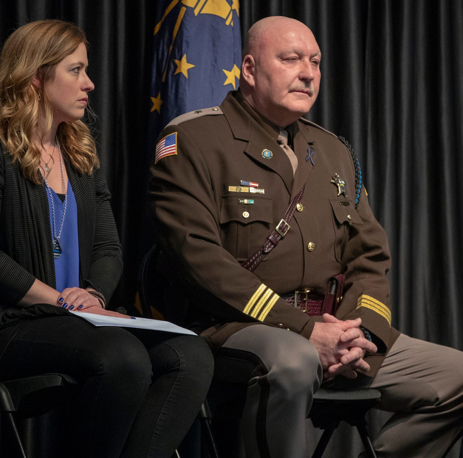 'Jake gave his whole heart to others': Fallen deputy's widow speaks out 1 year after shooting
