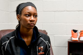 How Greenfield basketball star Chloe Moore-McNeil's coped after her mother passed away on her 16th birthday last year.