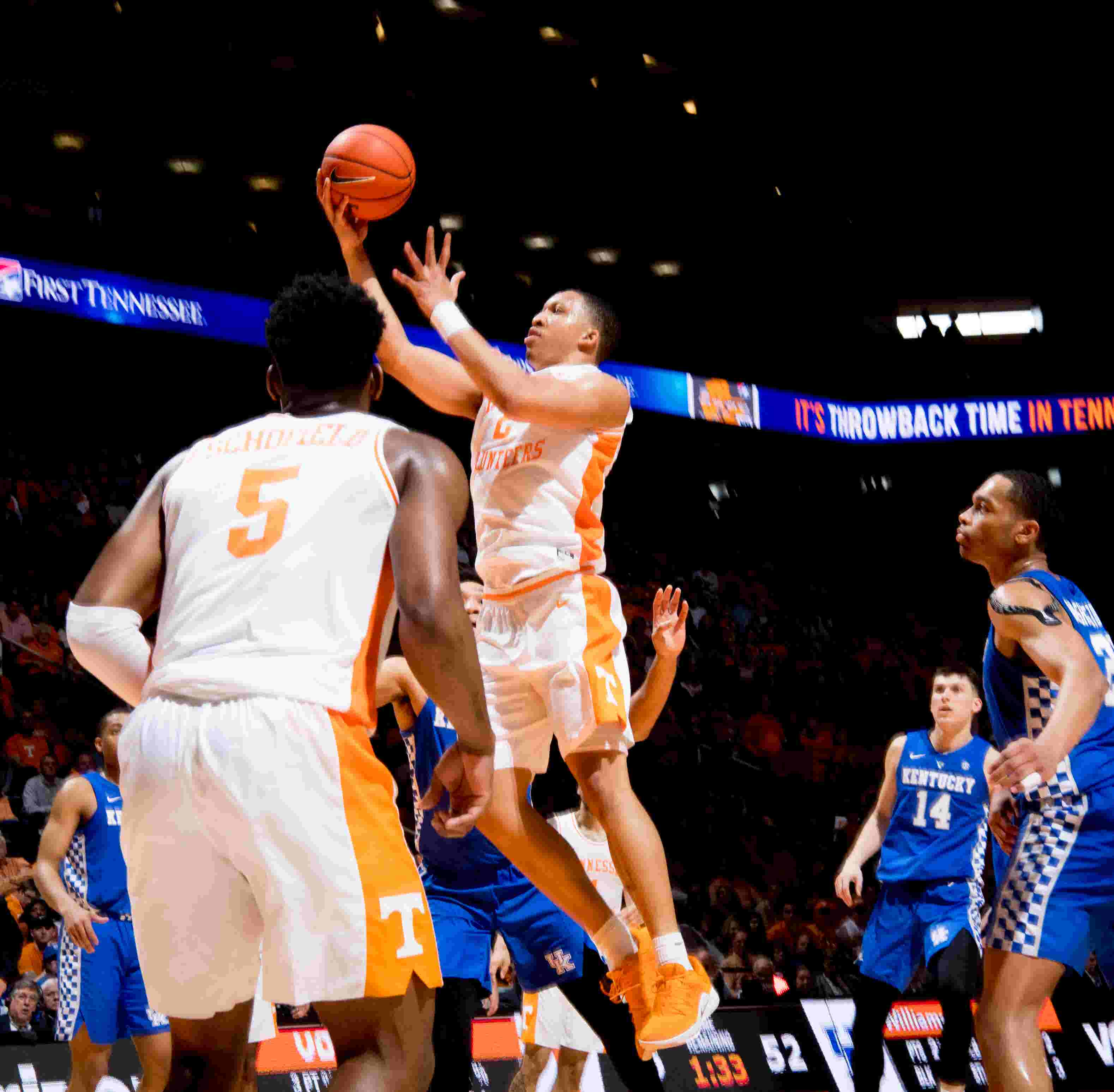 2019 Sec Men S Basketball Tournament Bracket Tennessee Vs