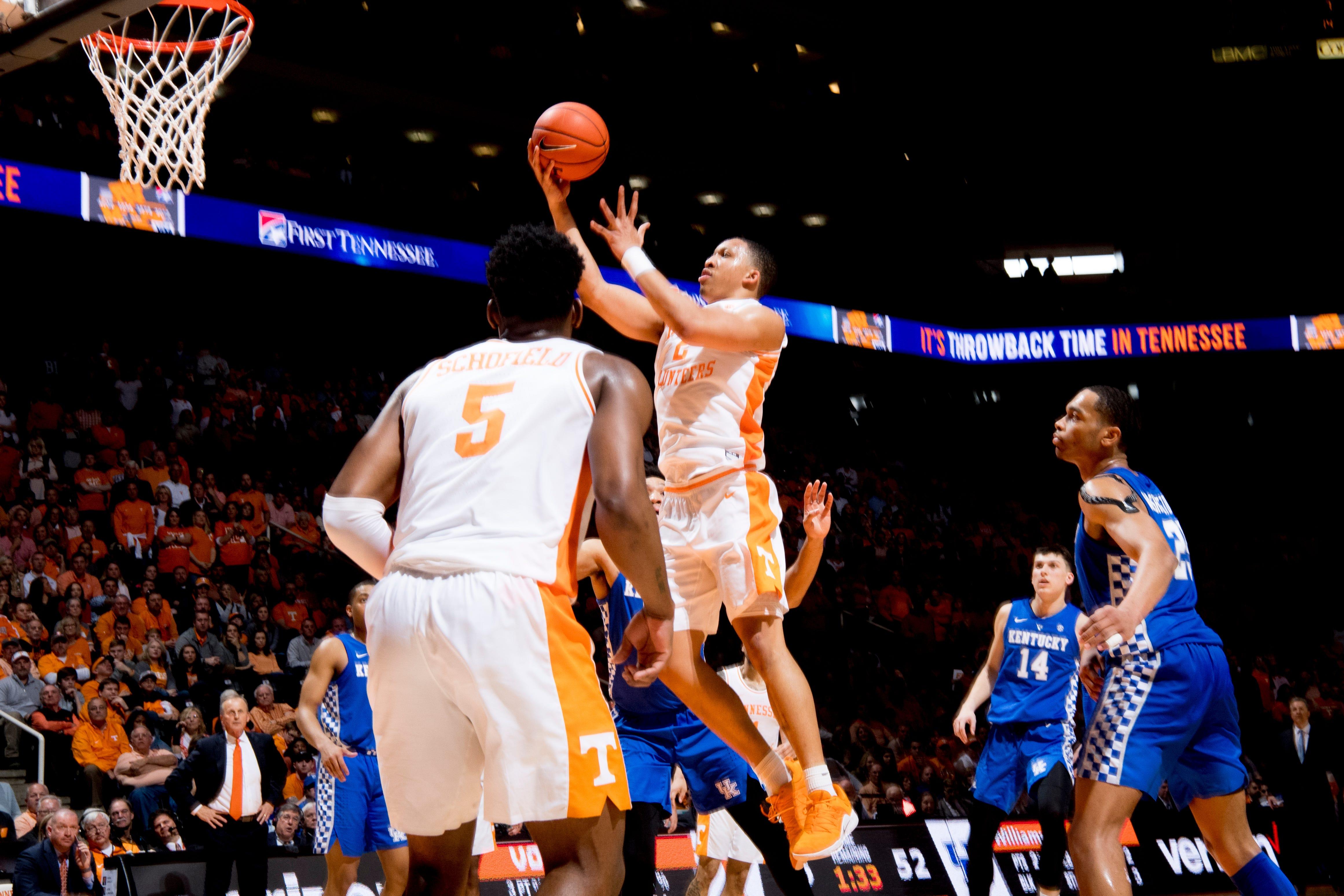 photograph regarding Printable Kentucky Basketball Schedule titled 2019 SEC mens basketball match bracket: Tennessee vs