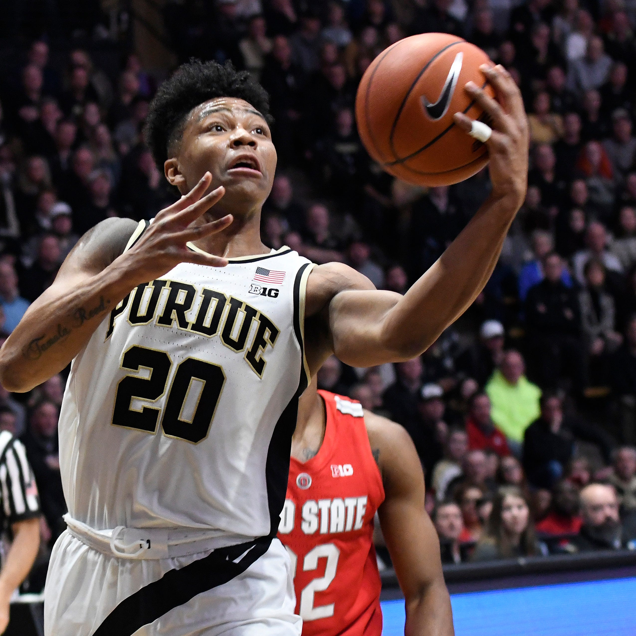 March Madness 2019: Purdue basketball's Nojel Eastern caused a scare with ankle injury