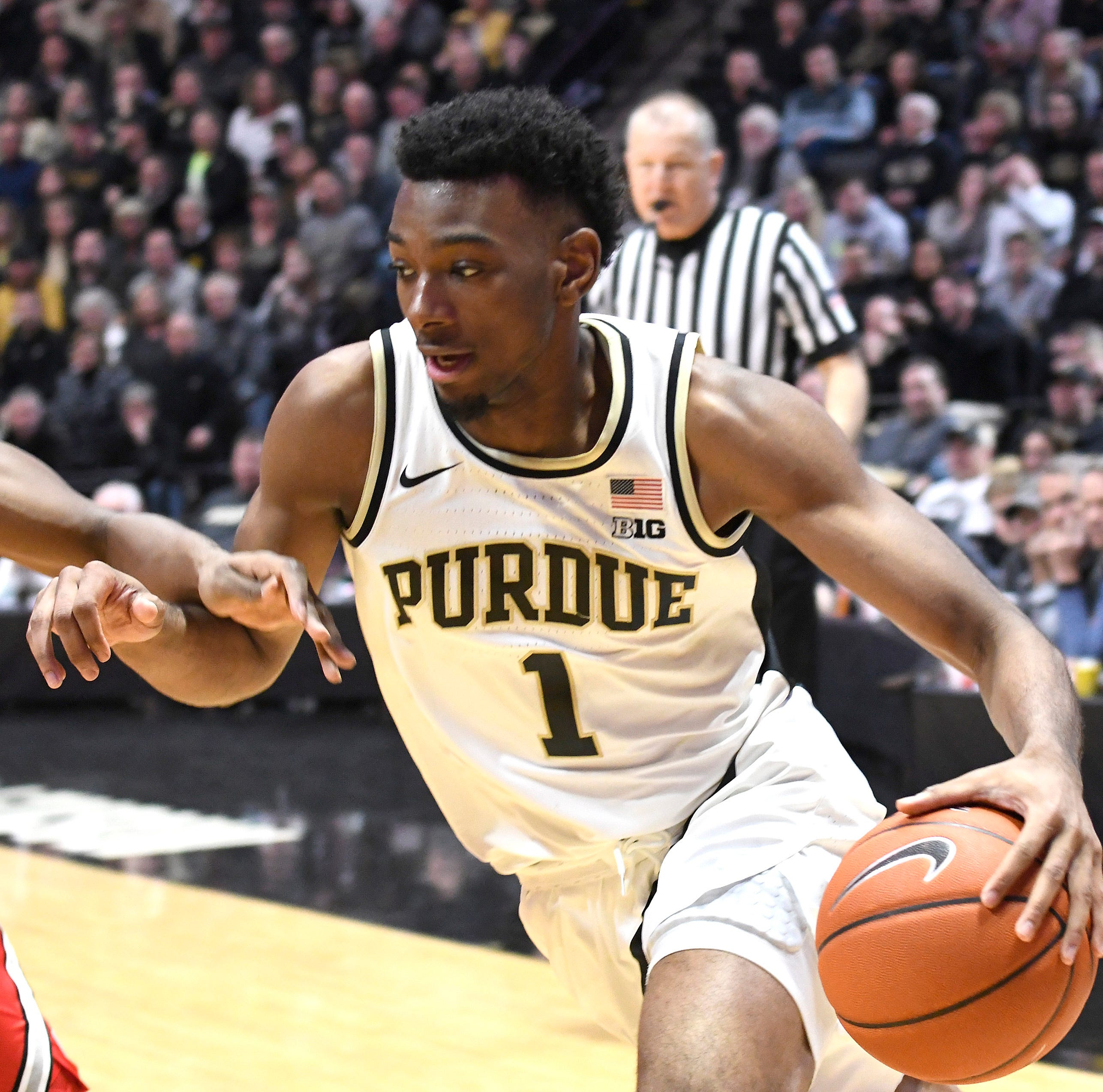 NCAA tournament brings Purdue's Aaron Wheeler back to Connecticut, and a basketball legacy