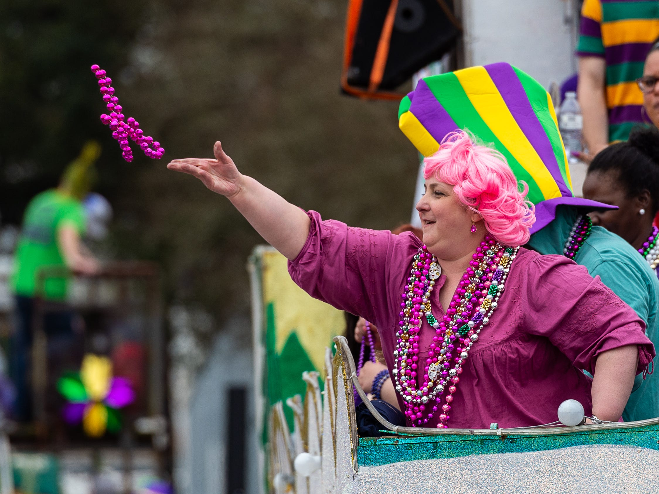 The Youngsville Mardi Gras Parade. Saturday, March 2, 2019.