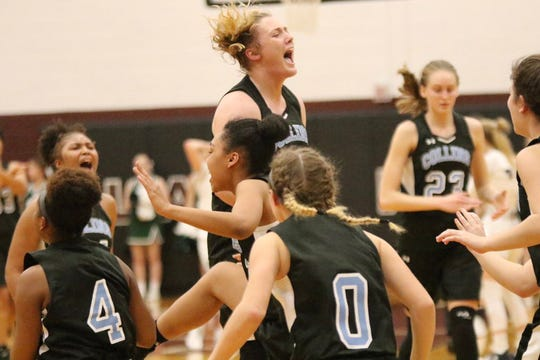 The Collins High School girls basketball team is headed to the Eighth Region championship game for the first time in program history.
