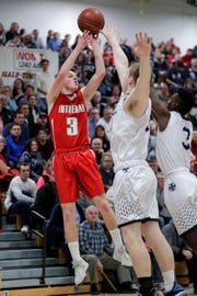 Manitowoc Lutheran's Trey Zastrow will be a contestant in the three-point shooting competition.