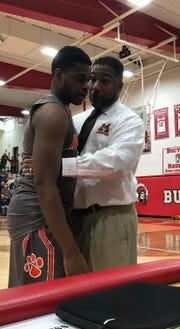 Mansfield Senior alum Marquis Sykes has now won two sectional titles in his two years as head coach of the Tygers.