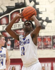 Ontario's Shaquan Coburn has the clutch gene as he always seems to hit the big shot when the Warriors need it.