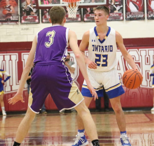 Ontario's Griffin Shaver not only makes a difference on the offensive end, but his defense has helped the Warriors win 10 of their last 11.