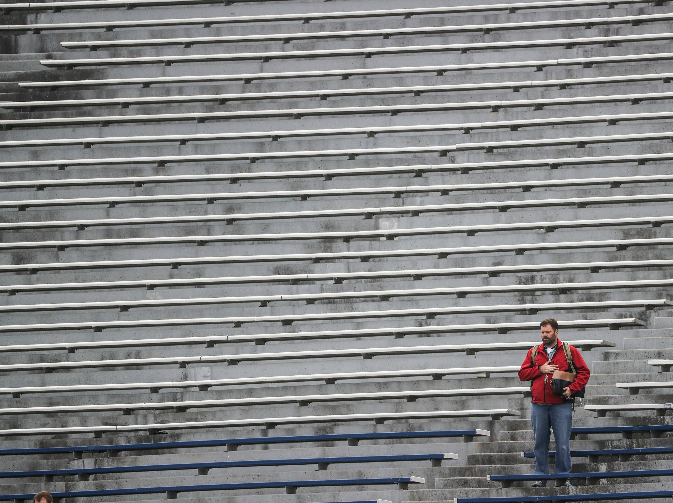 March 02, 2019 - A fan is seen during Saturday's game against the San Diego Fleet.