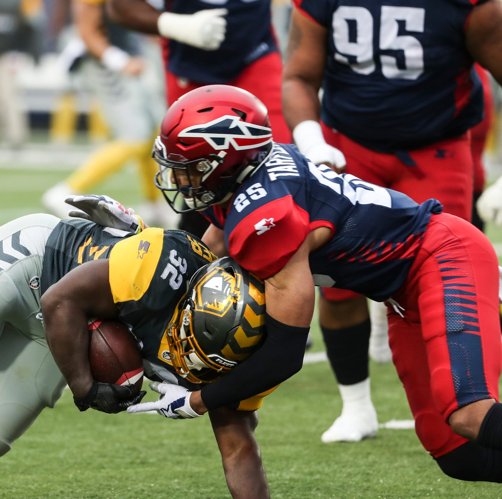 AAF scores, standings and stats through Week 4
