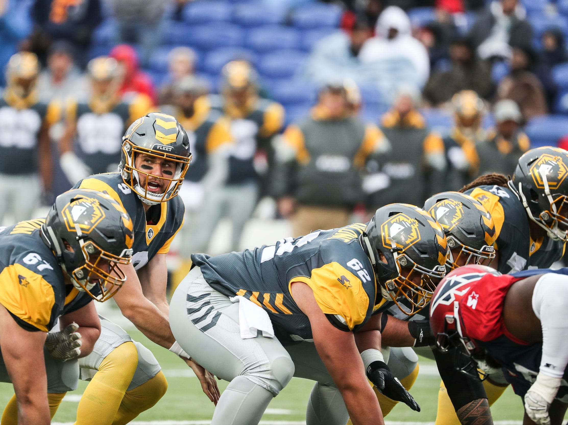 March 02, 2019 - San Diego's quarterback Philip Nelson during Saturday's game against the San Diego Fleet.