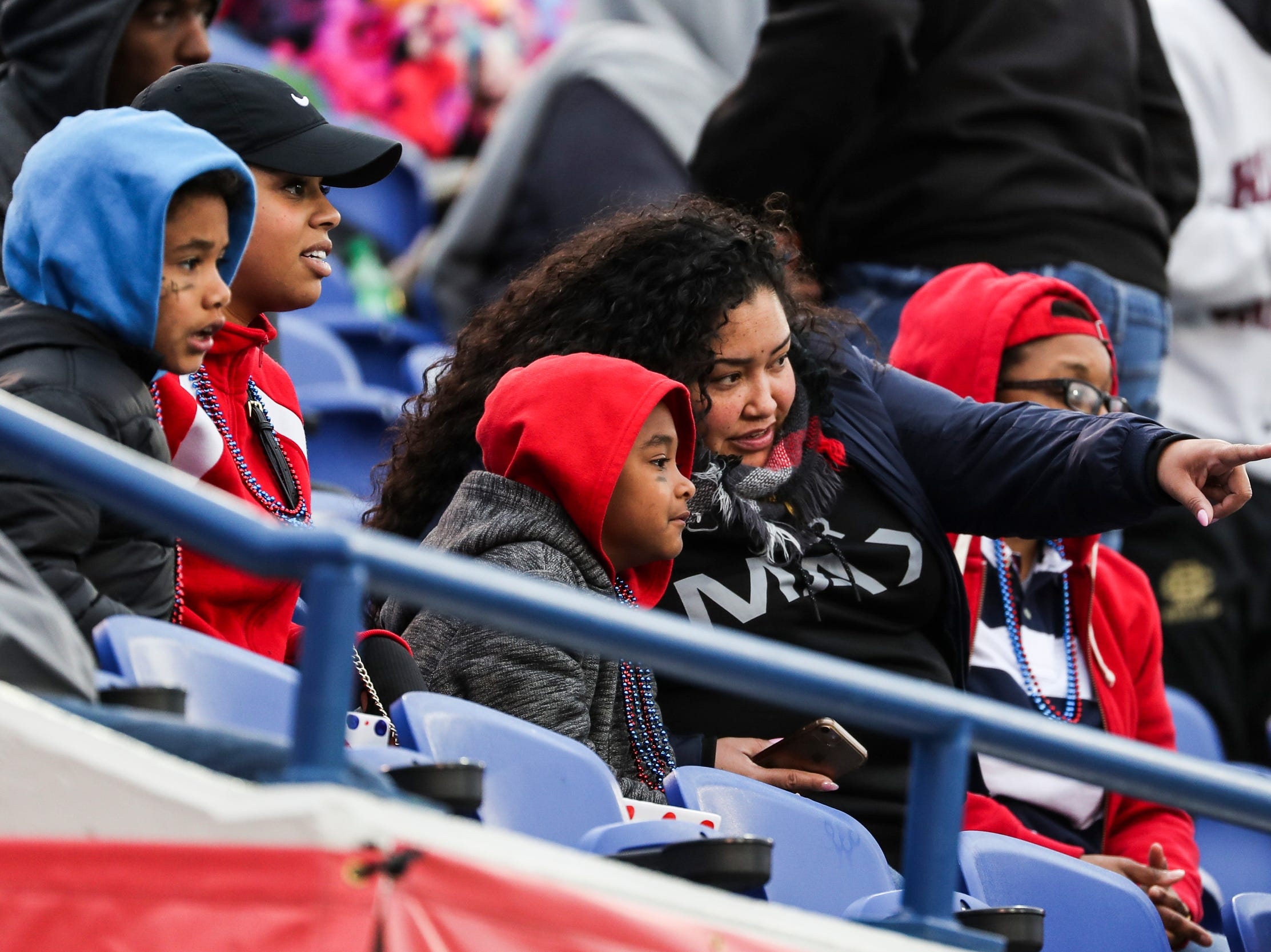 March 02, 2019 - Fans are seen during Saturday's game against the San Diego Fleet.