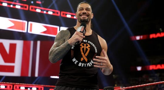 WWE star Roman Reigns moves to SmackDown.