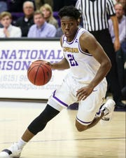 Former Franklin Road Academy star Kenny Cooper helped Lipscomb earn the No. 1 seed in the Atlantic Sun Conference tournament by beating North Alabama in Friday's regular season finale.