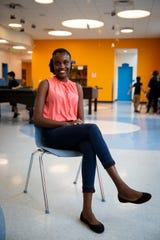 Islande Victorin, 18, poses for a portrait at the Boys and Girls Club of Collier County Bolch Campus in Immokalee on Friday, March 1, 2019. Victorin says that the Boys and Girls Club, along with many other organizations she's involved with, have helped her gain confidence and leadership skills.