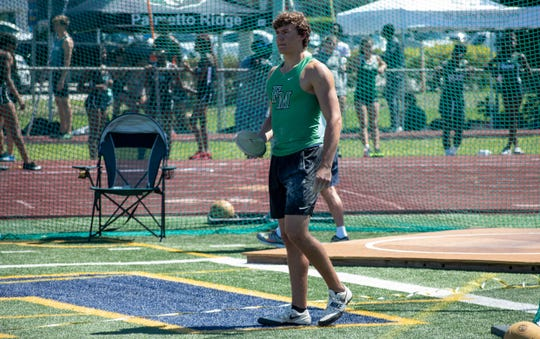 Fort Myers' Jake Lemmon gets ready to compete in the 55th Eagle Invitational track and field meet at Naples High School on Saturday.