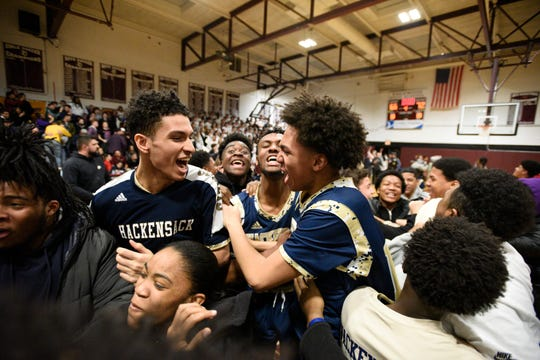 Hackensack, as the No. 9 seed, advanced to the North 1, Group 4 sectional title game.