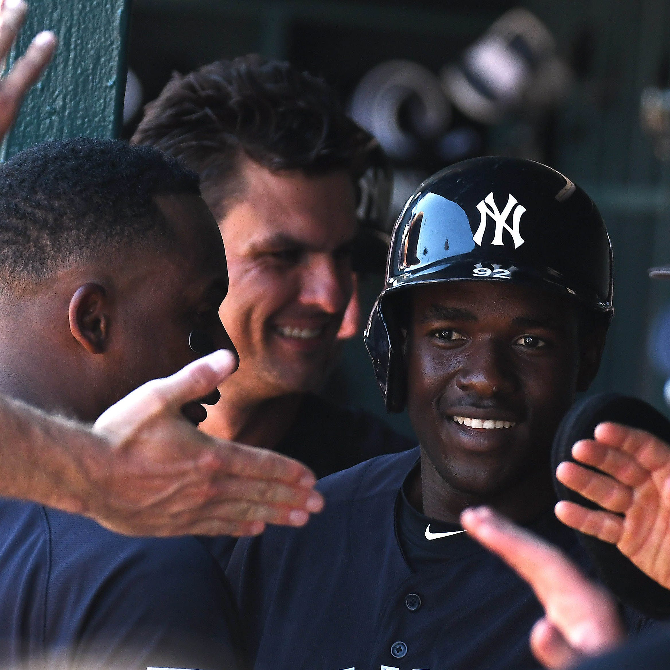 Estevan Florial's stock on the rise at Yankees camp