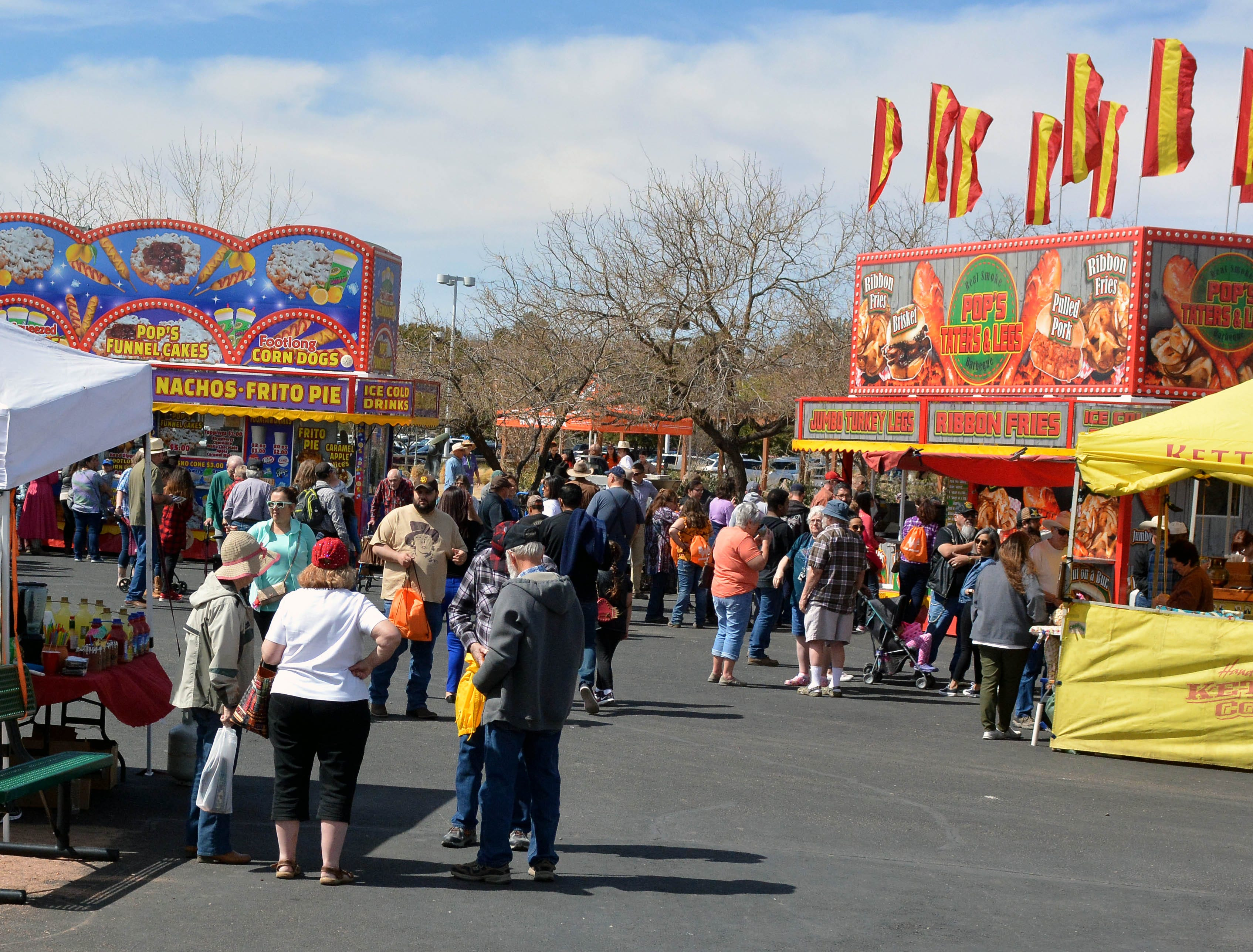 A variety of foods were available at the 20th annual Cowboy Days, held Saturday, March 2, 2019, at the New Mexico Farm and Ranch Heritage Museum.