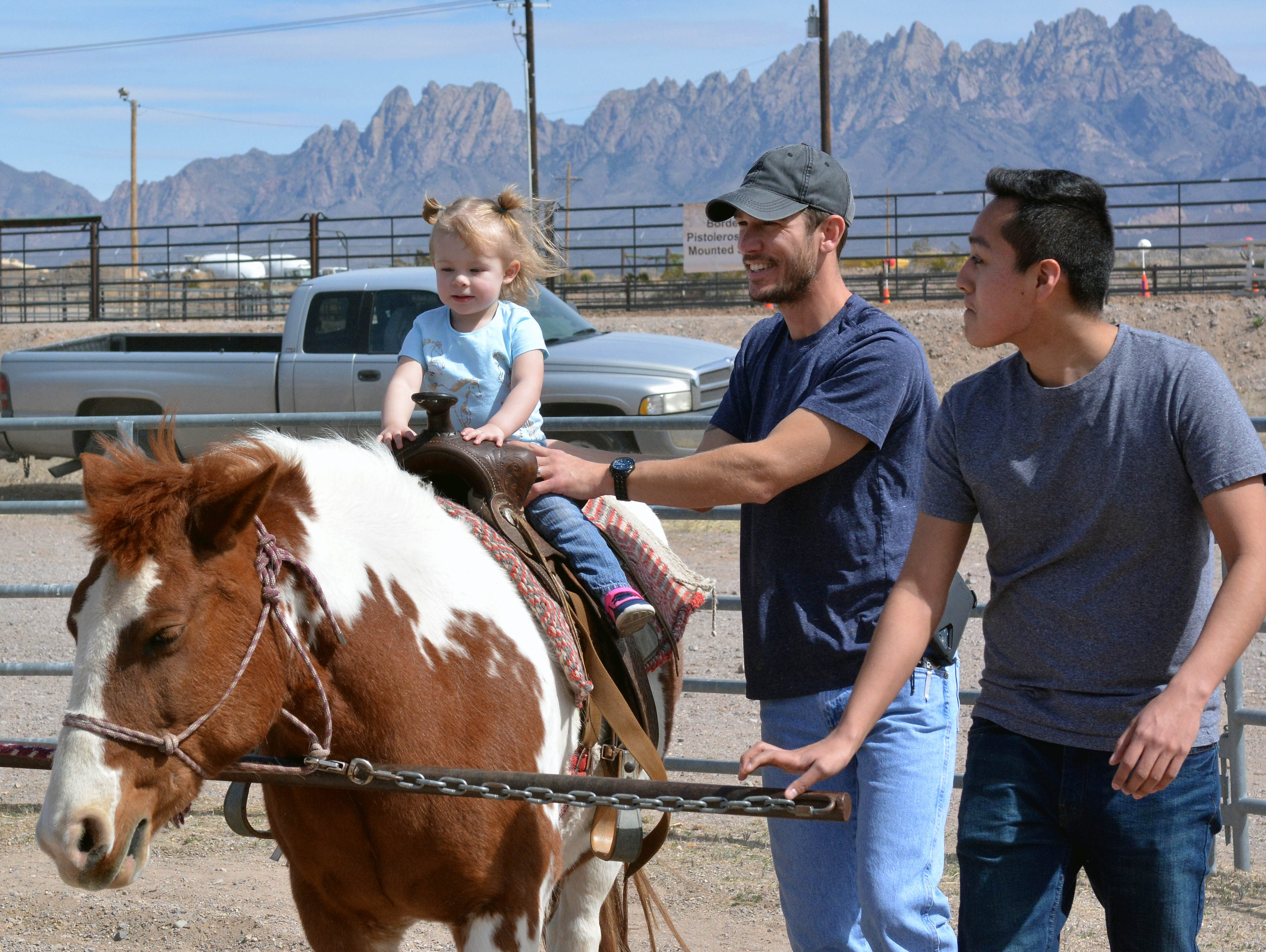 Pony rides were available to all youngsters at the 20th annual Cowboy Days, held Saturday, March 2, 2019, at the New Mexico Farm and Ranch Heritage Museum.