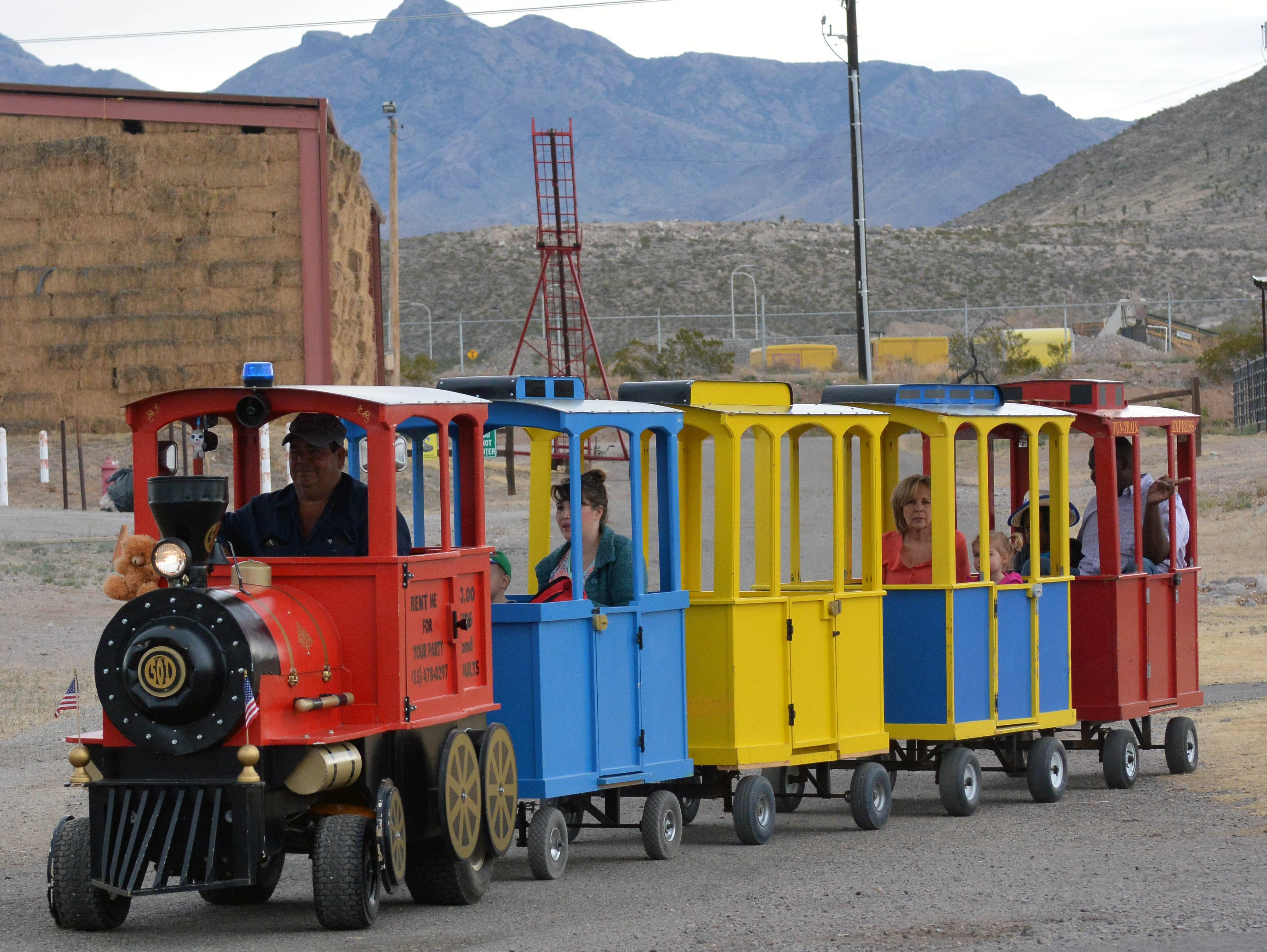 Mini train rides were available to everyone at the 20th annual Cowboy Days, held Saturday, March 2, 2019, at the New Mexico Farm and Ranch Heritage Museum.
