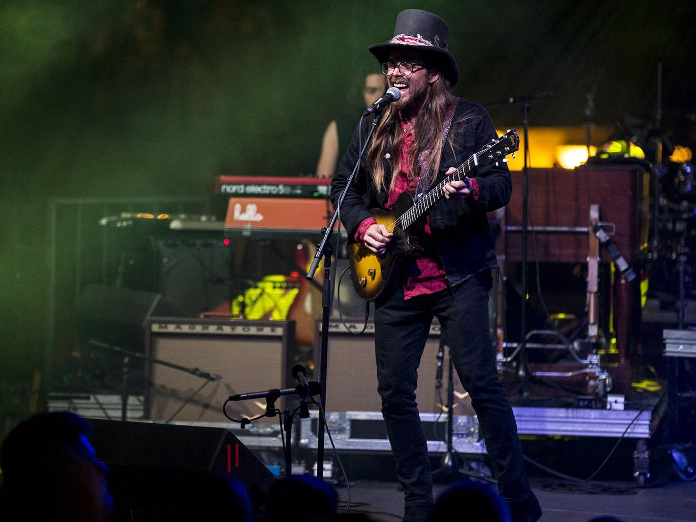 Lukas Nelson & Promise of the Real perform during McDowell Mountain Music Festival on Friday, March 1, 2019, at Margaret T. Hance Park in Phoenix.