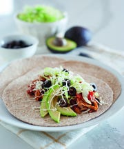 Shredded chicken taco meat from Michelle Dudash.