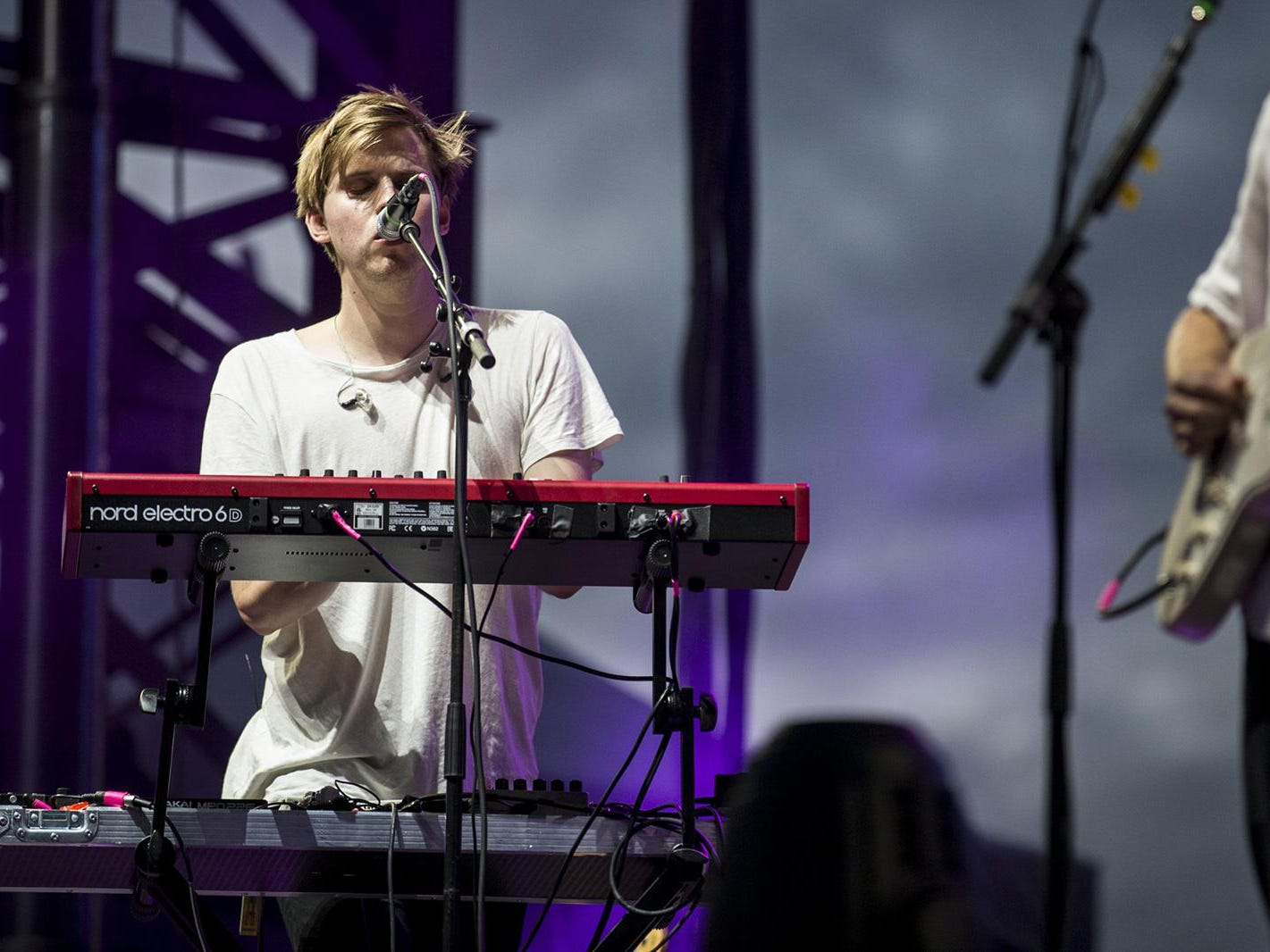 Mansionair perform during McDowell Mountain Music Festival on Friday, March 1, 2019, at Margaret T. Hance Park in Phoenix.