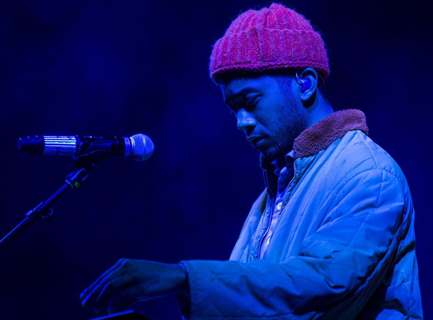 Toro y Moi perform during McDowell Mountain Music Festival on Friday, March 1, 2019, at Margaret T. Hance Park in Phoenix.