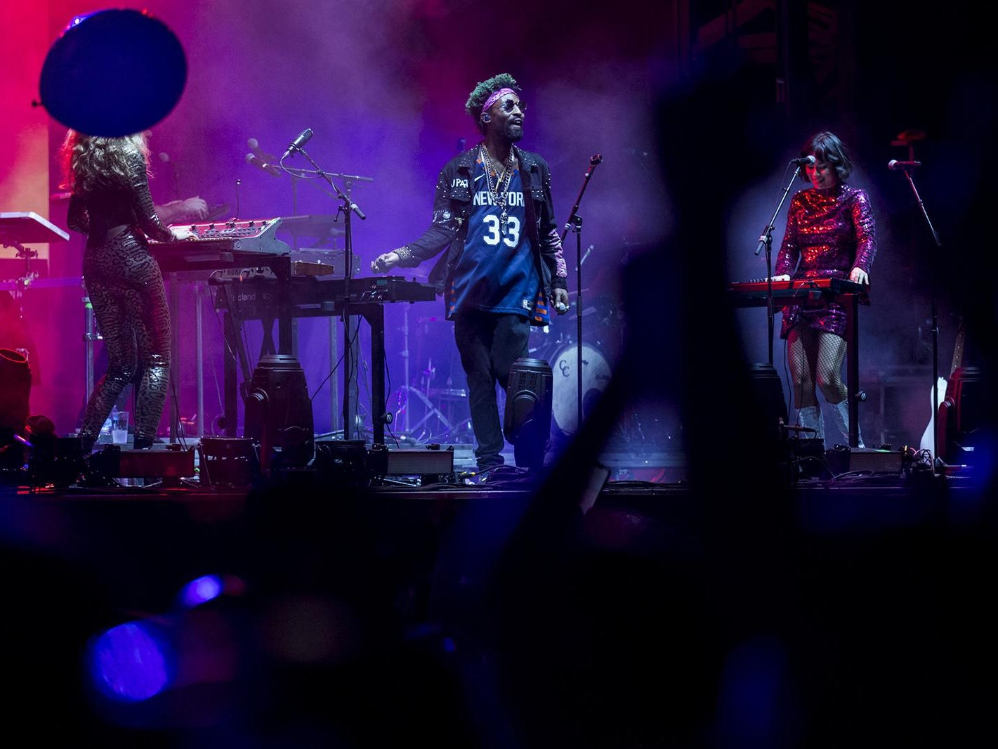The Knocks perform during McDowell Mountain Music Festival on Friday, March 1, 2019, at Margaret T. Hance Park in Phoenix.