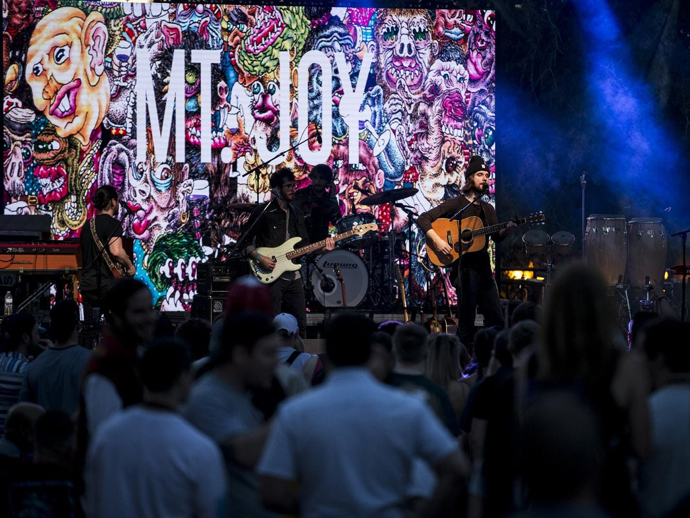 Mt. Joy perform during McDowell Mountain Music Festival on Friday, March 1, 2019, at Margaret T. Hance Park in Phoenix.