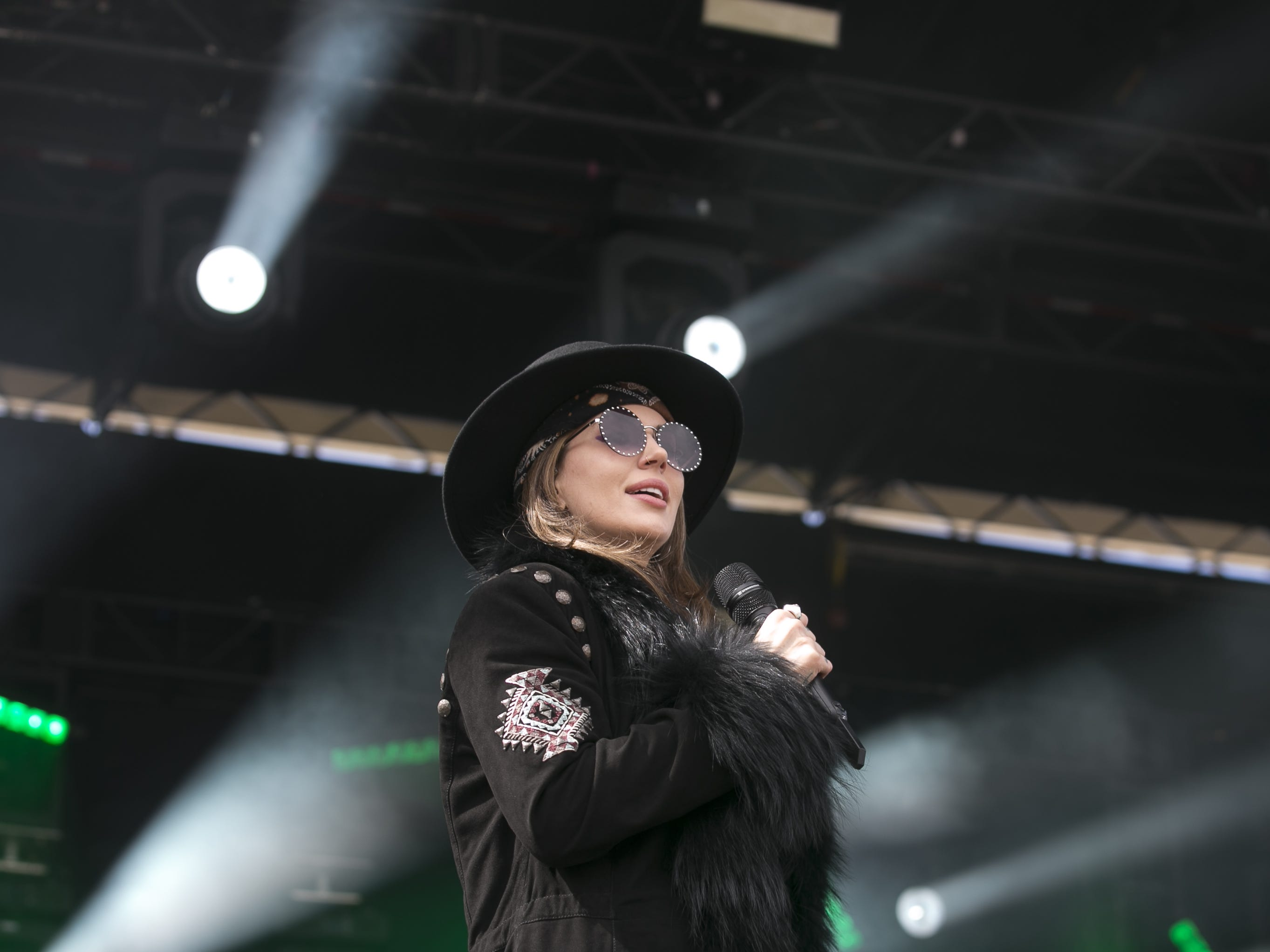 Dorothy and her band perform at the Innings Festival at Tempe Beach Park on Saturday, March 2, 2019.