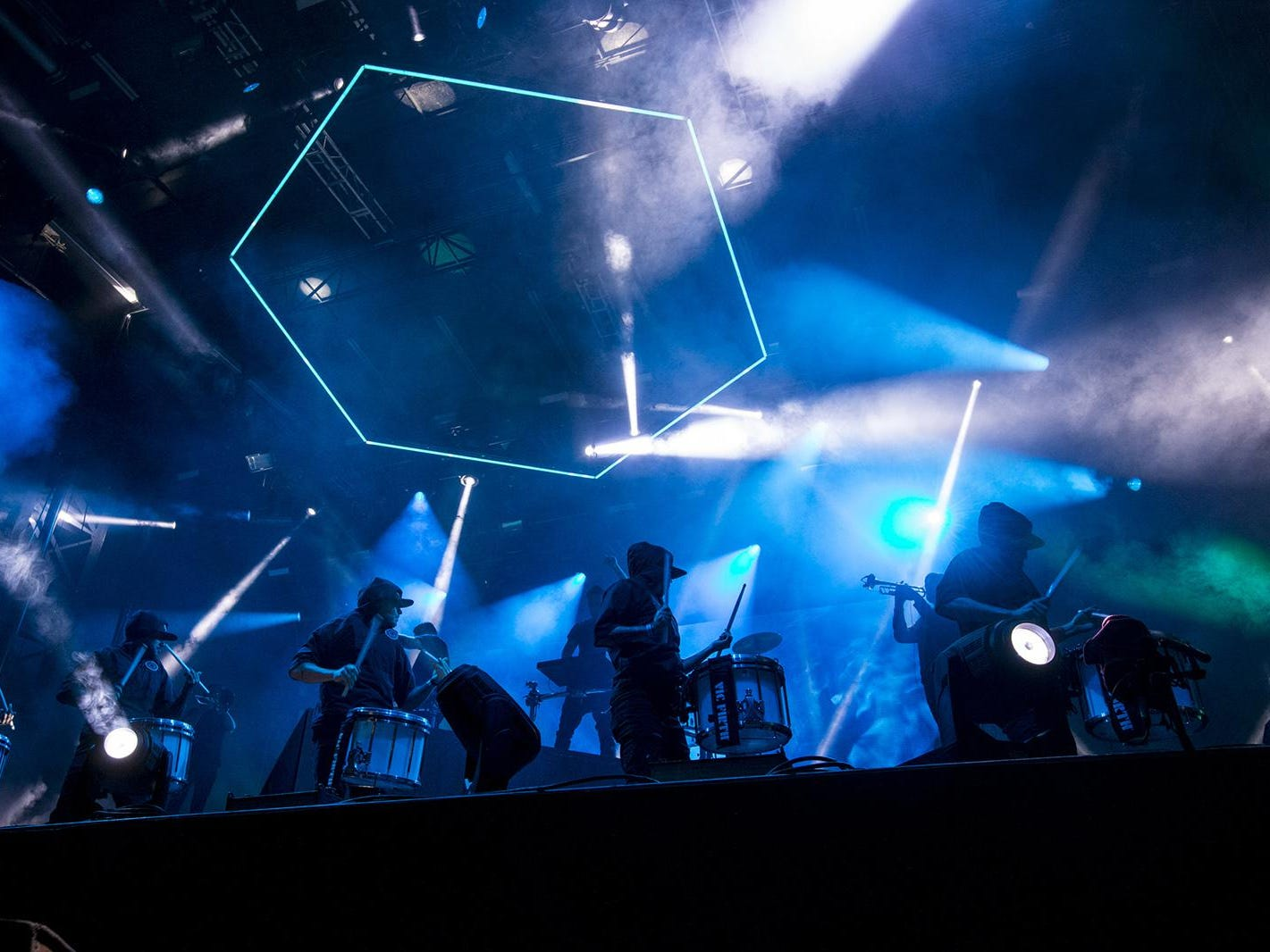 Odesza perform during McDowell Mountain Music Festival on Friday, March 1, 2019, at Margaret T. Hance Park in Phoenix.