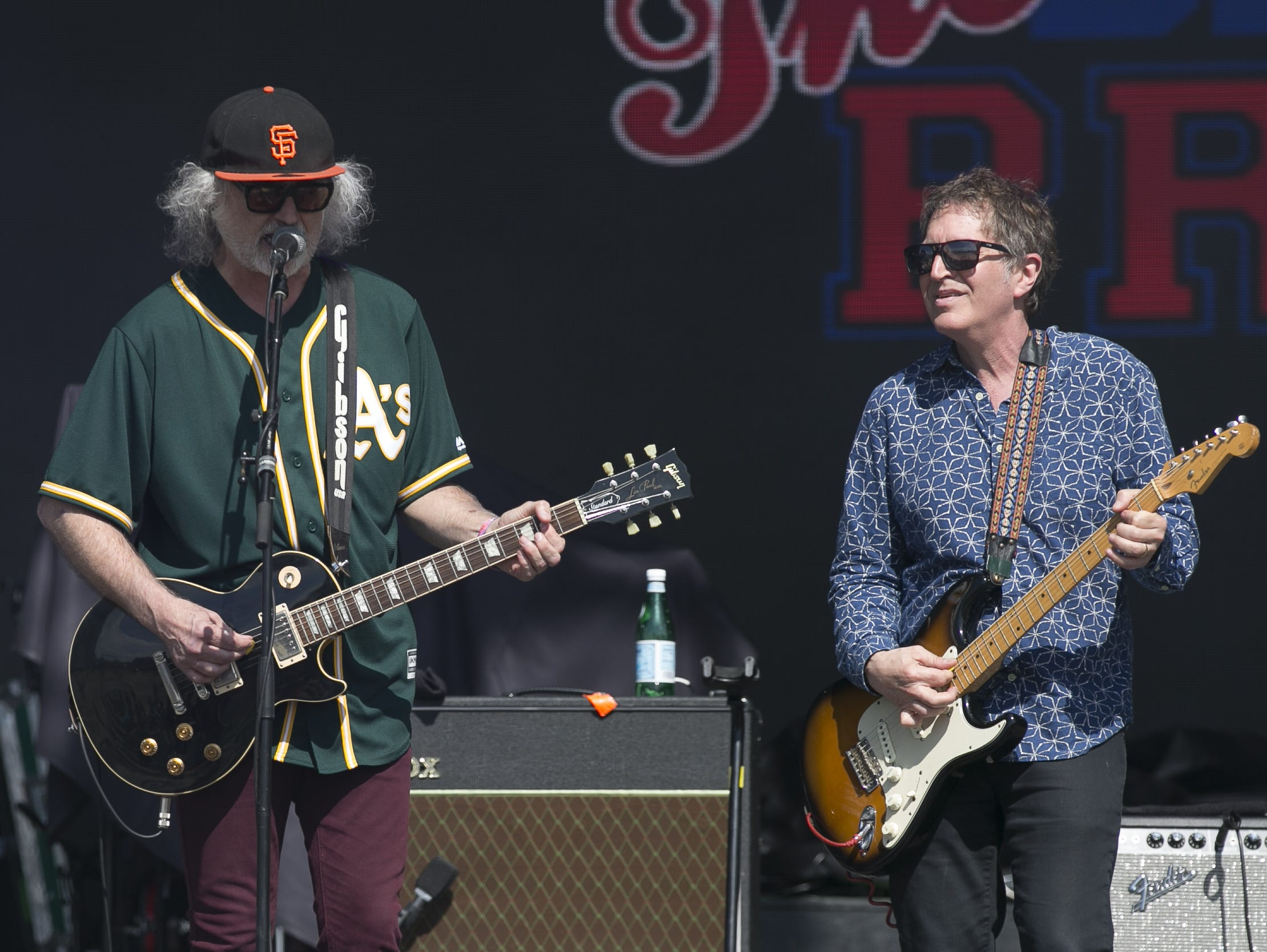 The Baseball Project perform at the Innings Festival at Tempe Beach Park on Saturday, March 2, 2019.