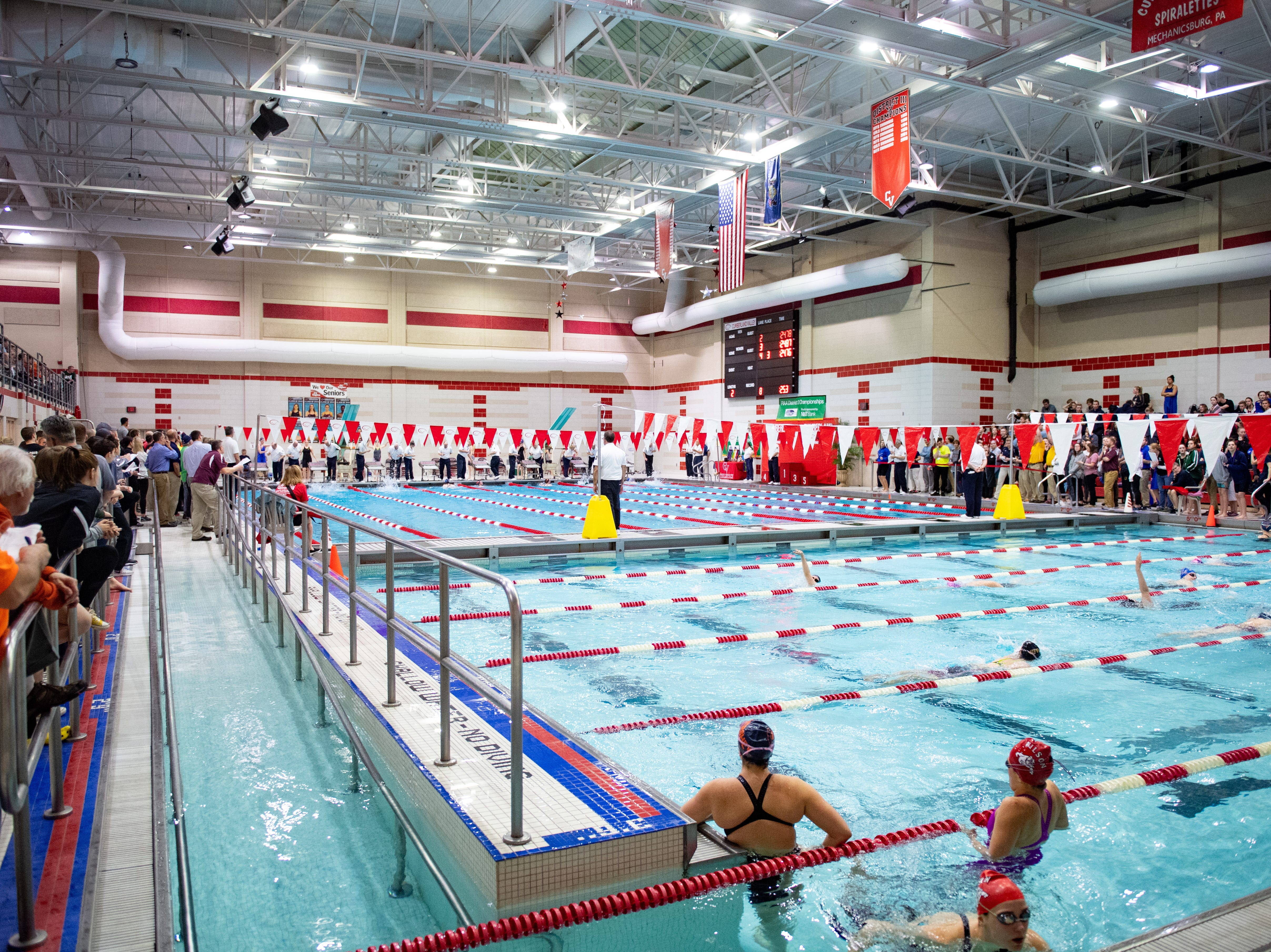 The PIAA District 3 Championships are being held at Cumberland Valley High School, March 1, 2019.