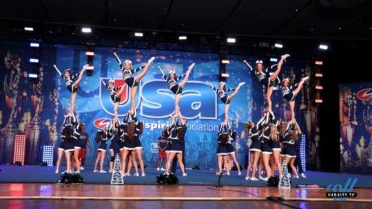The Damonte Ranch cheer team won a national competition.