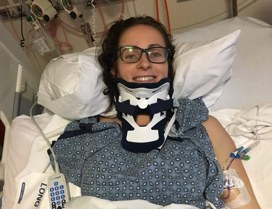 Kelly Cass, a McQueen High and University of Nevada graduate, was left for dead after being hit by a suspected drunk driver on Dec. 27, 2018.