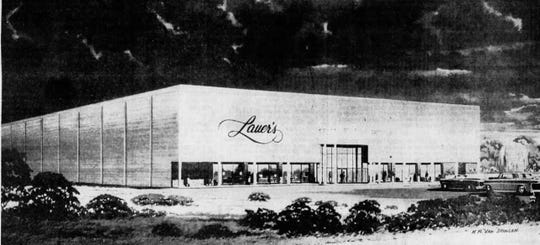 Lauer's pictured in an August 1966 ad.