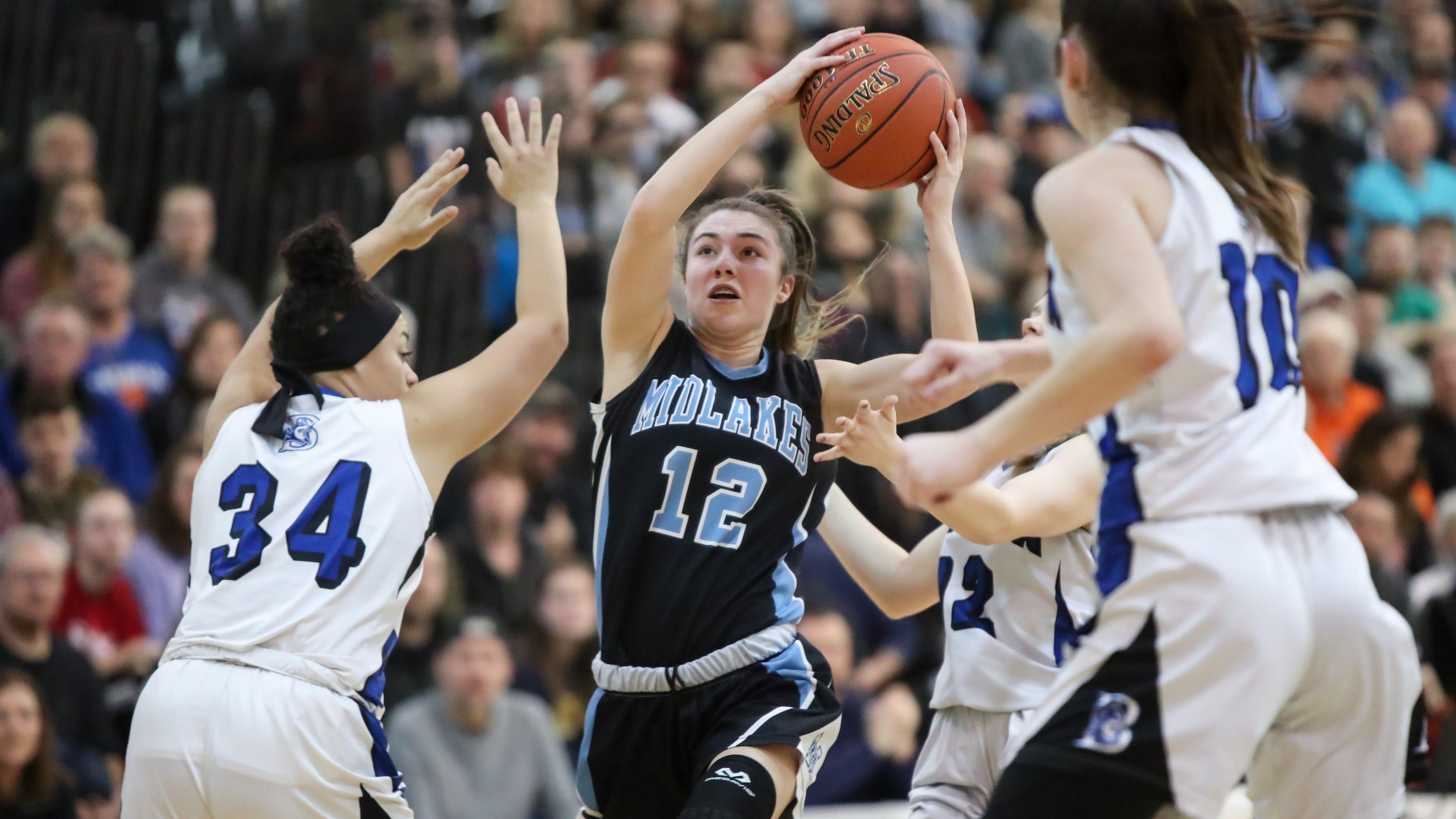Section V girls basketball: Midlakes tops Batavia for B1 title
